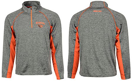 Colosseum Men's Oregon State Beavers Stinger Quarter-Zip Pullover