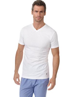 Polo Ralph Lauren Men 39 S Slim Fit Classic Cotton V Neck T