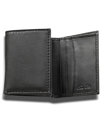 Tasso Elba Lamb Skin Trifold Wallet Accessories
