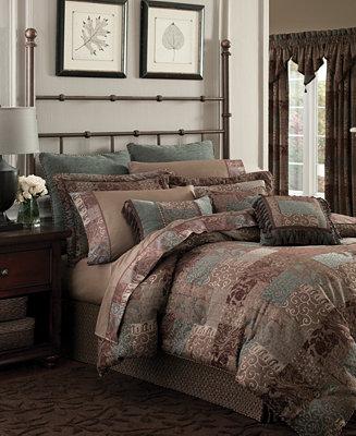 Croscill Galleria Brown Bedding Collection - Bedding