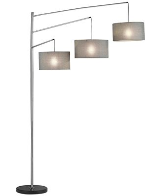 Adesso Wellington Arc Floor Lamp Lighting Lamps For The Home Macy