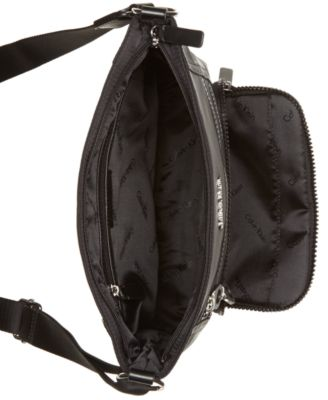 Calvin Klein Navy Travel Bag With Front Pockets