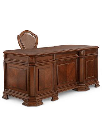 Goodwin 2 Pc Home Office Set Desk Chair Furniture