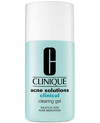 clinique acne solutions clinical clearing gel 1 0 oz skin care beauty. Black Bedroom Furniture Sets. Home Design Ideas