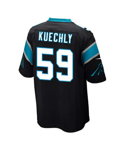 NFL Jerseys Online - Nike Kids' Luke Kuechly Carolina Panthers Game Jersey - Sports Fan ...