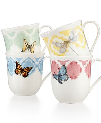 Image Result For Lenox Butterfly Meadow Mugs Set Of