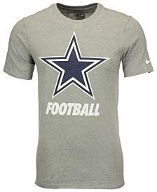 Youth Dallas Cowboys Nike Navy Blue Facility T-Shirt