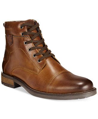Alfani Jack Cap Toe Boots Only At Macy S Shoes Men