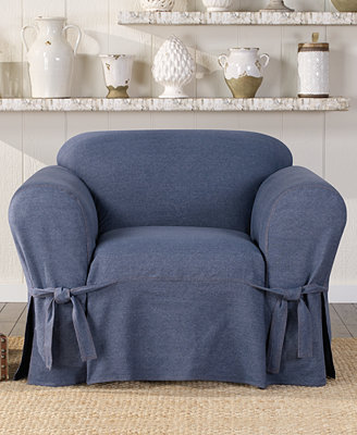Sure Fit Authentic Denim Slipcover Collection Slipcovers