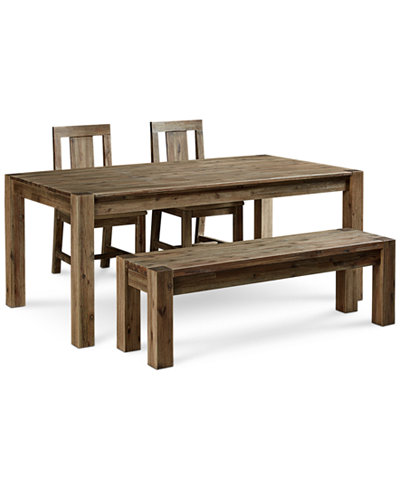 Canyon 4 Piece Dining Set Only At Macy S Table 2 Side