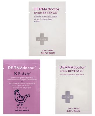 Receive a free 3-piece bonus gift with your $0.01 Dermadoctor purchase