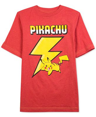 Pokemon Boys 39 Flash Pikachu T Shirt Shirts Tees Kids