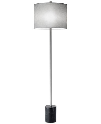 Adesso blythe floor lamp lighting lamps for the home for Macy s torchiere floor lamp