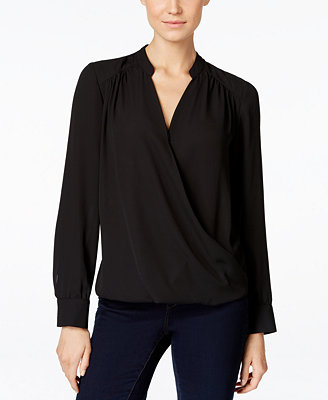 Macys Womens Long Sleeve Blouse 53
