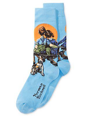 Hot Socks Men's Little Spooners Socks