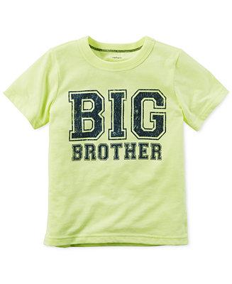 carter 39 s toddler boys 39 big brother t shirt shirts tees