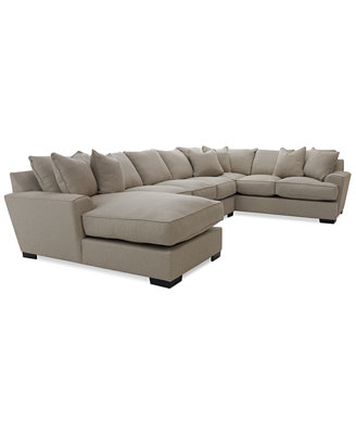 Ainsley 3- Piece Sectional with Chaise, Apartment Sofa & 6 ...