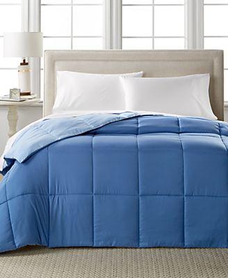 home design down alternative color comforters