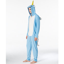 American Rag Mens Halloween Onesie Costume - Unicorn