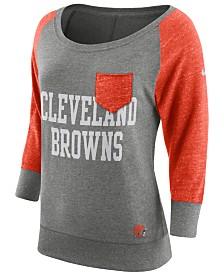 Women's Cleveland Browns Concept Sports Camo Knit Camo Pants