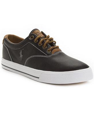 Polo Ralph Lauren Vaughn Leather Sneakers Shoes Men