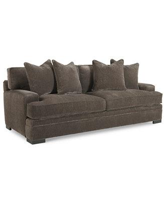 Teddy Fabric Sofa Furniture Macy S