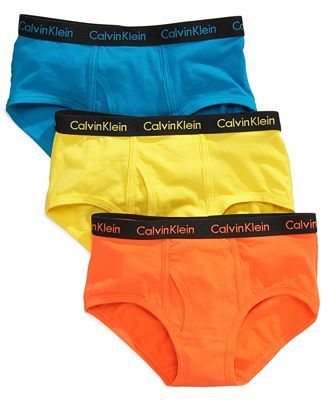 Calvin Klein Kids Underwear, Boys or Little Boys 3-Pack ...