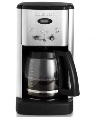 Cuisinart Coffee Maker Not Staying On : Cuisinart DCC-1200 Brew Central 12-Cup Coffee Maker - Coffee, Tea & Espresso - Kitchen - Macy s