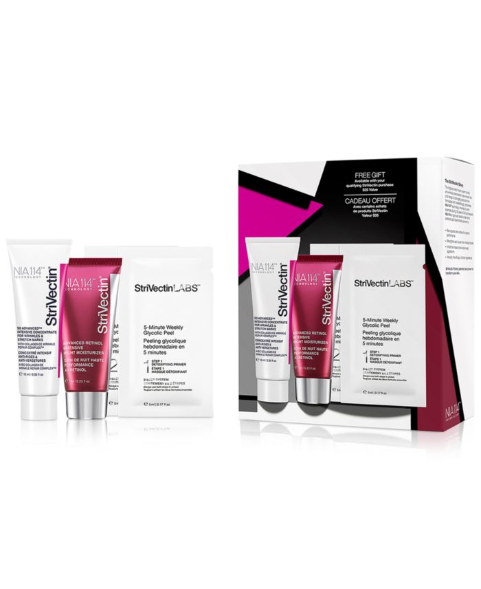 Receive a free 3piece bonus gift with your $99 StriVectin purchase