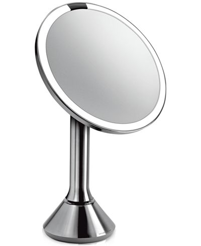 simplehuman Lighted Sensor-Activated Magnifying Vanity Makeup Mirror - Shop All Brands - Beauty ...
