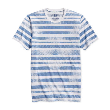 American Rag Mens Striped T-Shirt