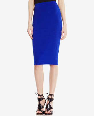 Vince Camuto Stretch Knit Pencil Skirt Skirts Women