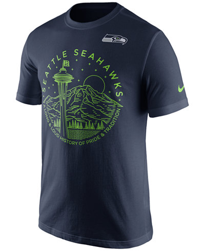 Nike Men's Seattle Seahawks Local Icons T-Shirt - Sports Fan Shop ...