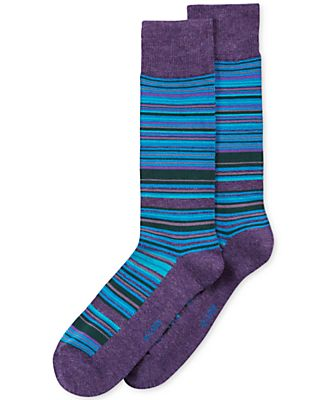 Alfani Men's Variegated-Stripe Socks, Only at Macy's