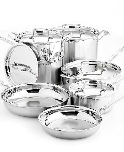 Cuisinart Stainless Steel 12 Piece Cookware Set