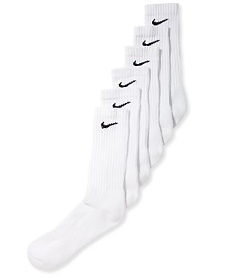 Nike Men's Cotton Crew 6 Pairs Socks