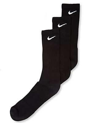 Nike Men's Socks, Cotton Cushion Crew Extended Size 3-Pack