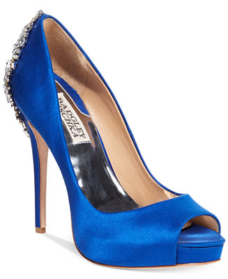 Badgley Mischka Kiara Platform Evening Pumps Pumps