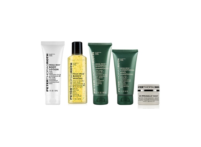 Receive a free 5piece bonus gift with your $50 Peter Thomas Roth purchase
