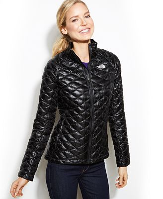 Shop Product The North Face Thermoball Quilted Jacket 3fid 3d1333118 North Face Jacket Women