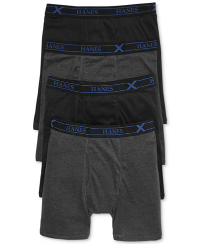 Hanes Hanes Boxer Briefs 4 Pack | Male Models Picture
