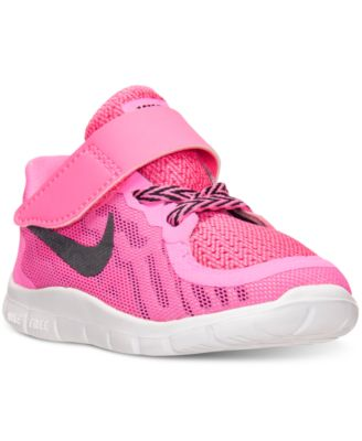 Nike Toddler Girls\u0026#39; Free 5.0 Running Sneakers from Finish Line