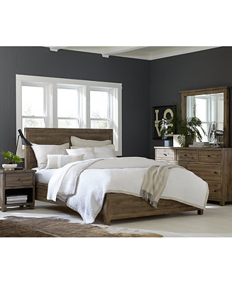 Canyon bedroom furniture collection only at macy 39 s for Farnichar sale