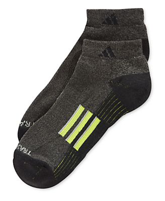 Adidas ClimaLite® Low-Cut Socks, 2 Pack