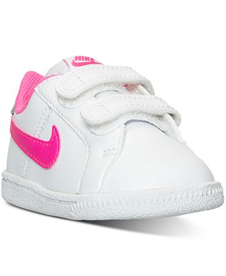 Nike Toddler Girls Court Royale Casual Sneakers from