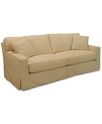 Shawnee Sofa with Slipcover with 2 Toss Pillows