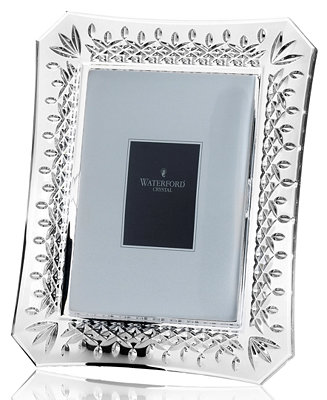 waterford picture frame lismore 8 x 10 picture frames macy 39 s. Black Bedroom Furniture Sets. Home Design Ideas