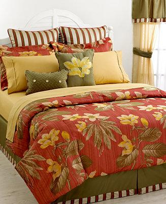 Closeout Sanibel 24 Piece King Jacquard Comforter Set