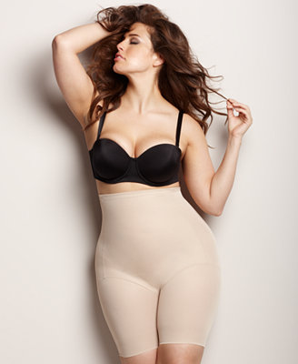 Naomi Amp Nicole Plus Size Firm Control High Waist