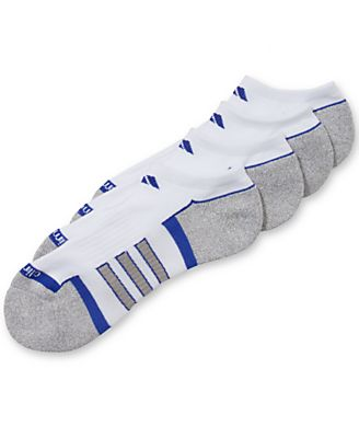 Adidas Men's No-Show Climalite II Socks 2-Pack